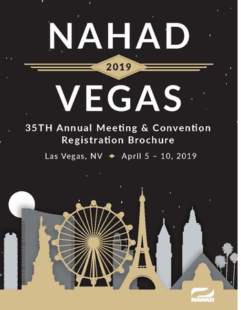 NAHAD 2019 Brochure Cover