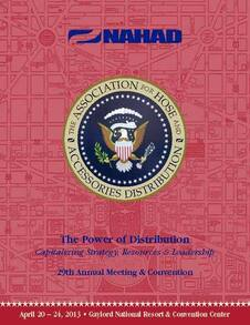 2013 Convention Brochure Cover