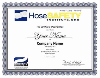HSI Certificate