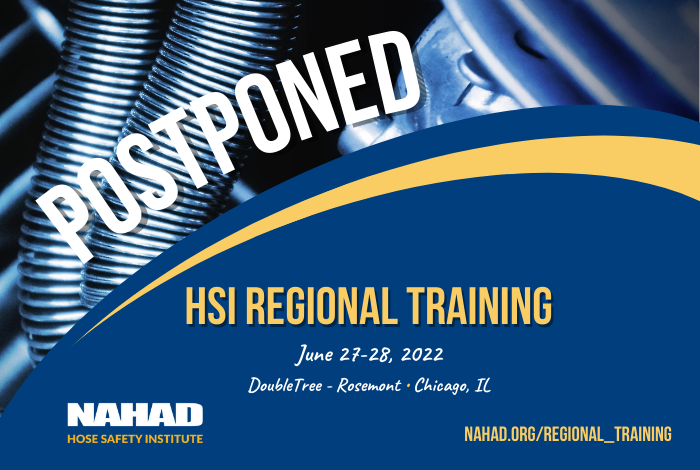 HSI Regional Training Moved to June 2022